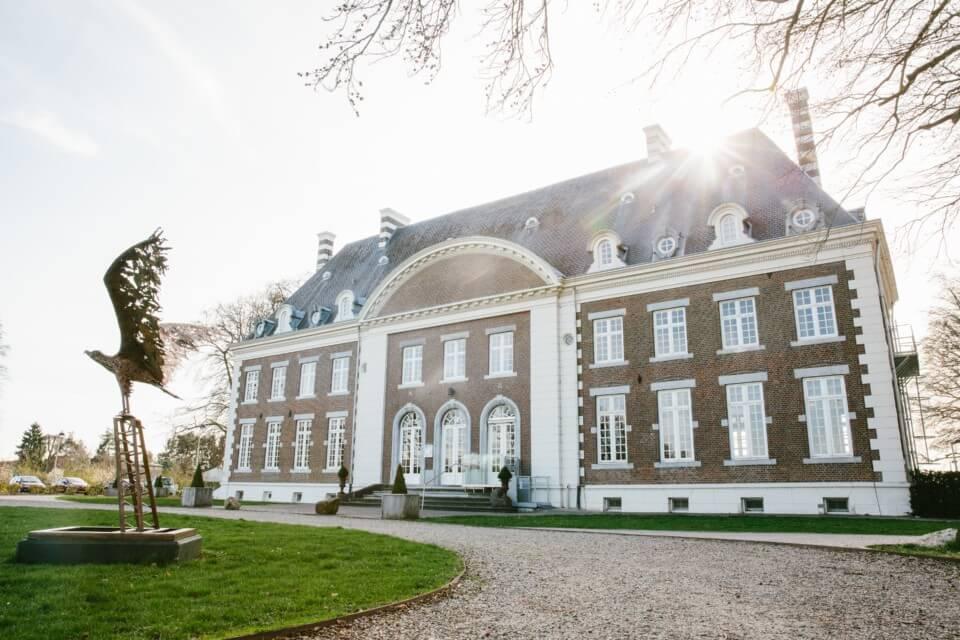 Historisch kasteel nabij Maastricht inclusief ontbijt